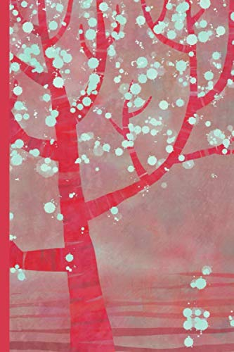 Cherry Blossom Note - Notes: A Blank Sheet Music Notebook with Pink Sakura Blossom Tree Cover Art