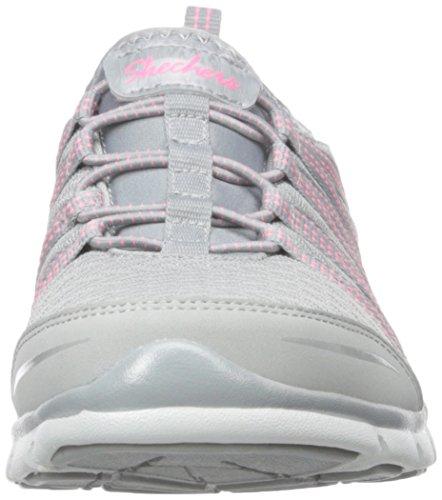 Skechers GratisShake-It-Off - Zapatillas Mujer Gray/Neon Pink