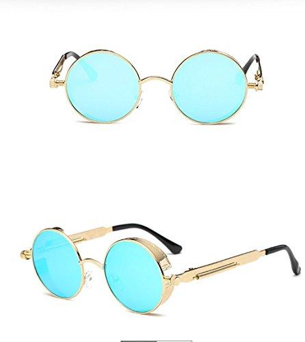 Gafas de Gafas 5 12 de Sol para SunglassesMAN Montura de Gafas para Hombre Sol Sol Color Gafas de Sol antideslumbrantes metálica Yxsd con Hombre Aq05xZp
