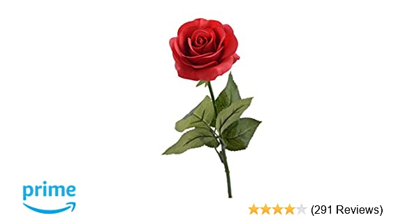 Amazon louis garden 17 artificial silk flowers fake rose 1 amazon louis garden 17 artificial silk flowers fake rose 1 red home kitchen mightylinksfo