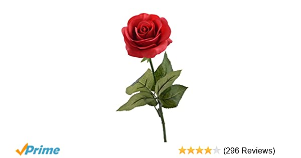 Amazon louis garden 17 artificial silk flowers fake rose 1 amazon louis garden 17 artificial silk flowers fake rose 1 red home kitchen mightylinksfo