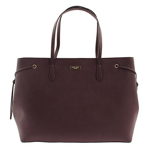 Kate Spade New York Ari Laurel Way Leather Large Tote in Mahogany by Kate Spade New York