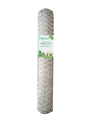 2-inch-Openings-Square-Mesh-Welded-Wire-20-Gauge-Hot-dipped-Galvanized-Hardware-Cloth-Gutter-Guards-Plant-Supports-Chicken-Run-Rabbit-Fence-Cage-Window-Poultry-Enclosure-Doors