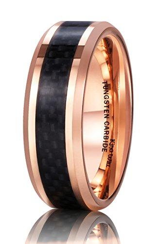 Inlay Tungsten Carbide Ring - 7