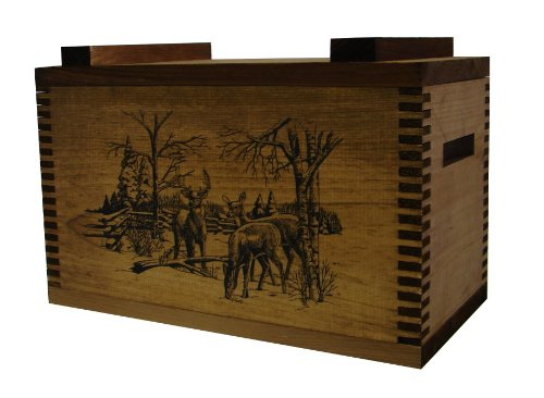 UPC 025554019704, Evans Sports Standard Ammo Box, Winter Deer