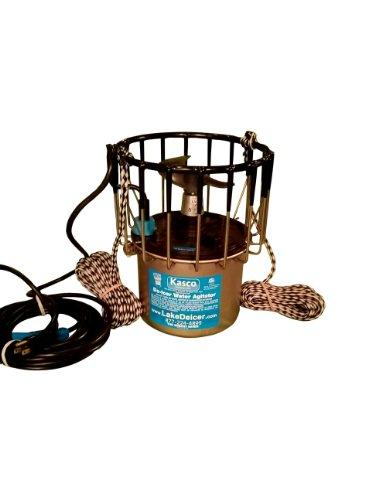 1 2hp kasco deicer with 100 ft power cord and 20 ft for Kasco marine de icer motor