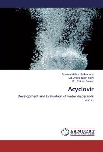 Acyclovir: Development and Evaluation of water dispersible tablet