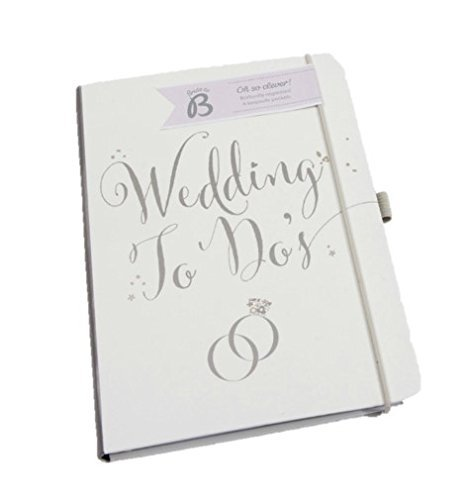 Busy B Bride to B A5 Wedding To Do Planner Book - White (Notepads Wedding)