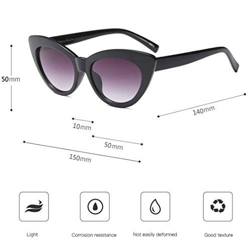 de Diseño Gato Sol Ojo D Gafas Hunpta de de Unisex D RSqT4Xa