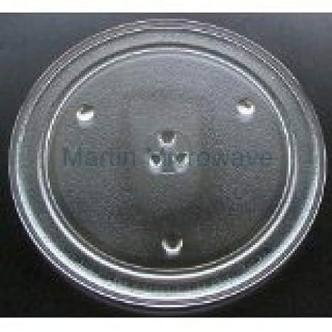 Magic Chef microondas de cristal Tocadiscos placa/bandeja 12 3/4 ...