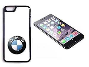 iPhone 6 Plus Black Plastic Hard Case with High Gloss Printed Insert BMW