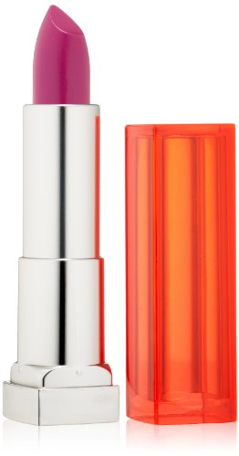 Maybelline New York Color Sensational Vivids Lipcolor, Hot Plum, 0.15 Ounce