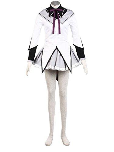 Harry Shops Puella Magi Madoka Magica Akemi Homura Cosplay Costume-Female-XXX-Large (Cosplay Shop)