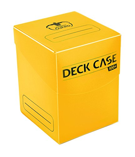 Db: Deck Case 100Ct Yellow Cards