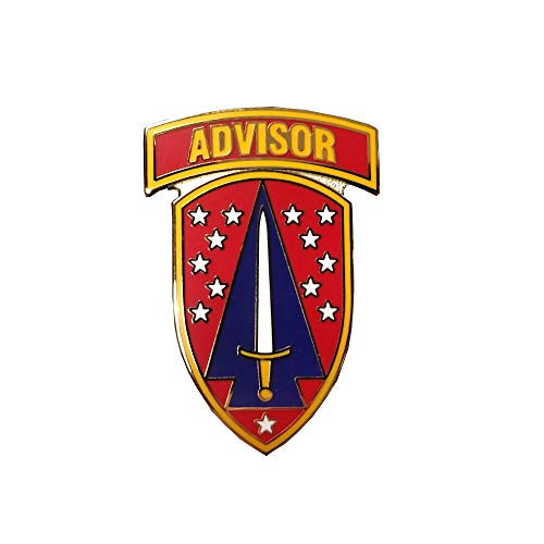 US Army Security Force Assistance Brigade CSIB (Combat Service Identification Badge) - Badge Forces Security