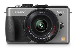 Panasonic Lumix DMC-GX1X 16 MP Micro 4/3 Mirrorless Digital Camera with 3-Inch LCD Touch Screen and 14-42mm X Power Zoom Lens (Silver)