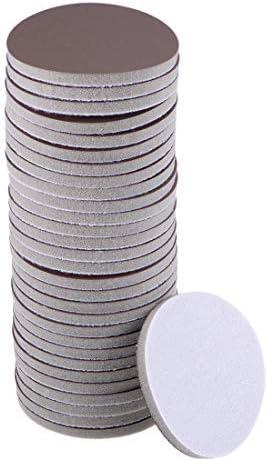 3-inch sanding hook and loop sanding loop wet/dry for automobiles Wood drywall Brown metal Corundum 3000 grain 30 pieces