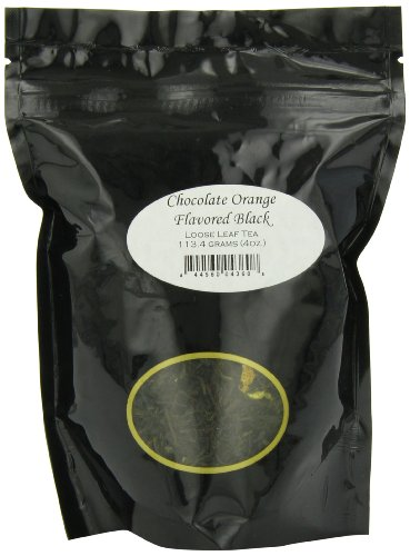 English Tea Store Loose Leaf, Chocolate Orange Flavored Black Tea, 4 Ounce