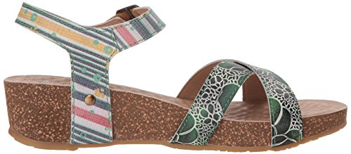 Vella Sandals by L'Artiste Women's Multi Spring Step Green nWxngwPf