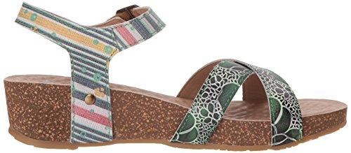 by Spring Women's Step Multi Sandals Green Vella L'Artiste zFdwB5xqF