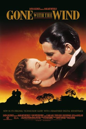Image result for gone with the wind poster