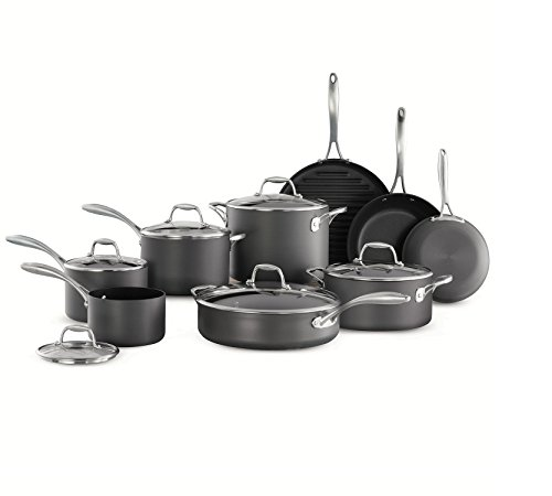 Tramontina 15-Piece Hard Anodized Cookware Set