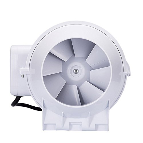 Hon guan 3 inch inline duct fan booster fan plastic - Bathroom exhaust fan 3 inch duct ...