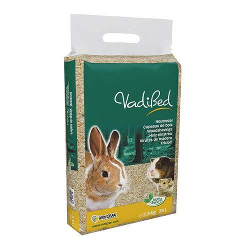 VADIGRAN vadibed 14L Wood Chips for Small Animals 1kg