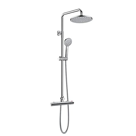 Micoe Bathroom Thermostatic Mixer Shower Valve With 8 Shower Head