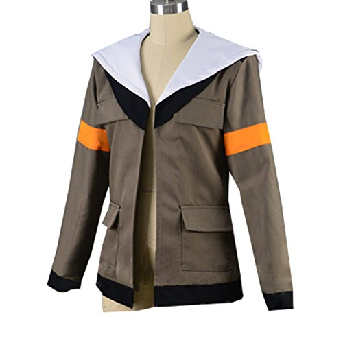 MYYH Anime Lance Cosplay Costume Brown Hoodie Coat Unisex Costume Uniform by MYYH