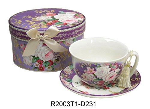 Rose Coffee Teacup - 2