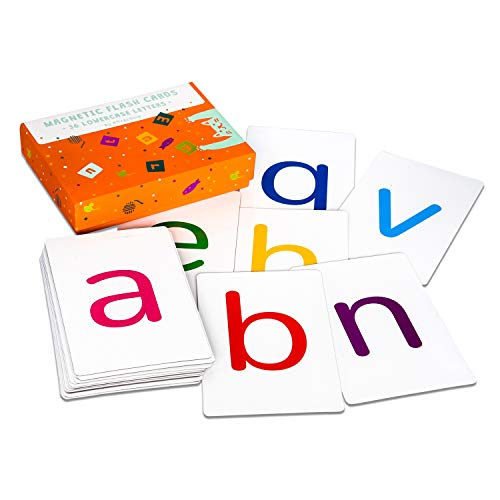 Attractivia Magnetic Alphabet ABC Flash Cards - 36 Lowercase Large Letters - for Teachers, Parents, ()