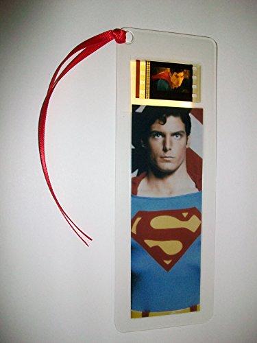 SUPERMAN Movie Film Cell Bookmark memorabilia Compliments poster dvd book