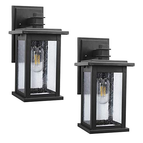 Black Outdoor Lighting Sconce in US - 3