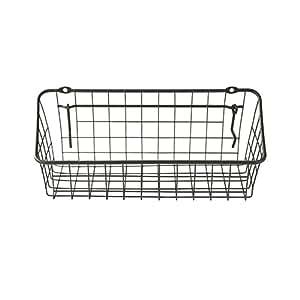 "Spectrum Diversified Pegboard & Wall Mount Basket, 11"" x 4"" x 4"", Industrial Gray"