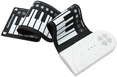 roll up electrónico piano teclado Teclado digital portátil ...