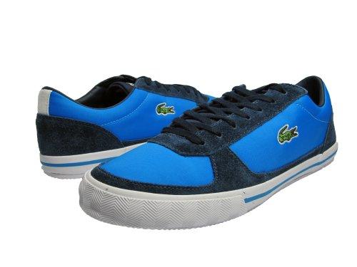 M Cnv 11 Lth Blue Dark Blue Lacoste Spm 5 Mens US Troyes qT4tx8v