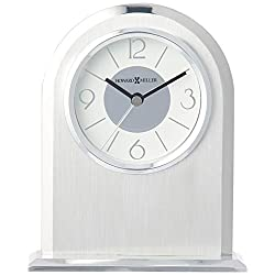 Howard Miller 645766 645-766 Argento Table Clock