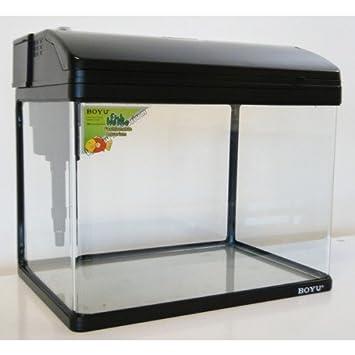 Pequeño 28 L Nano Tropical/acuario de agua fría, Color negro: Amazon.es: Productos para mascotas