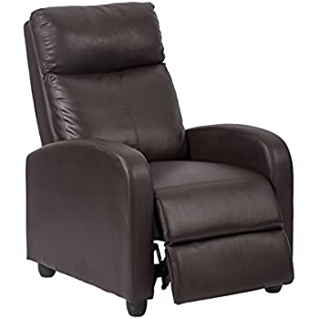 Amazon.com: Dorel Living Slim Recliner, Beige: Kitchen ...