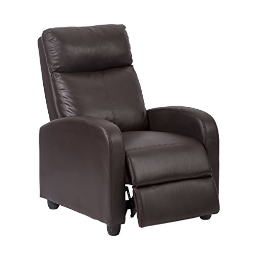 Mr Direct New Accent Chair Arm Chair Bonded Leather Single Recliner Chair Sofa