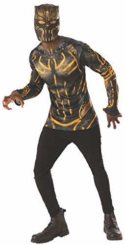 Rubie's Men's Marvel Black Panther Erik Killmonger Costume