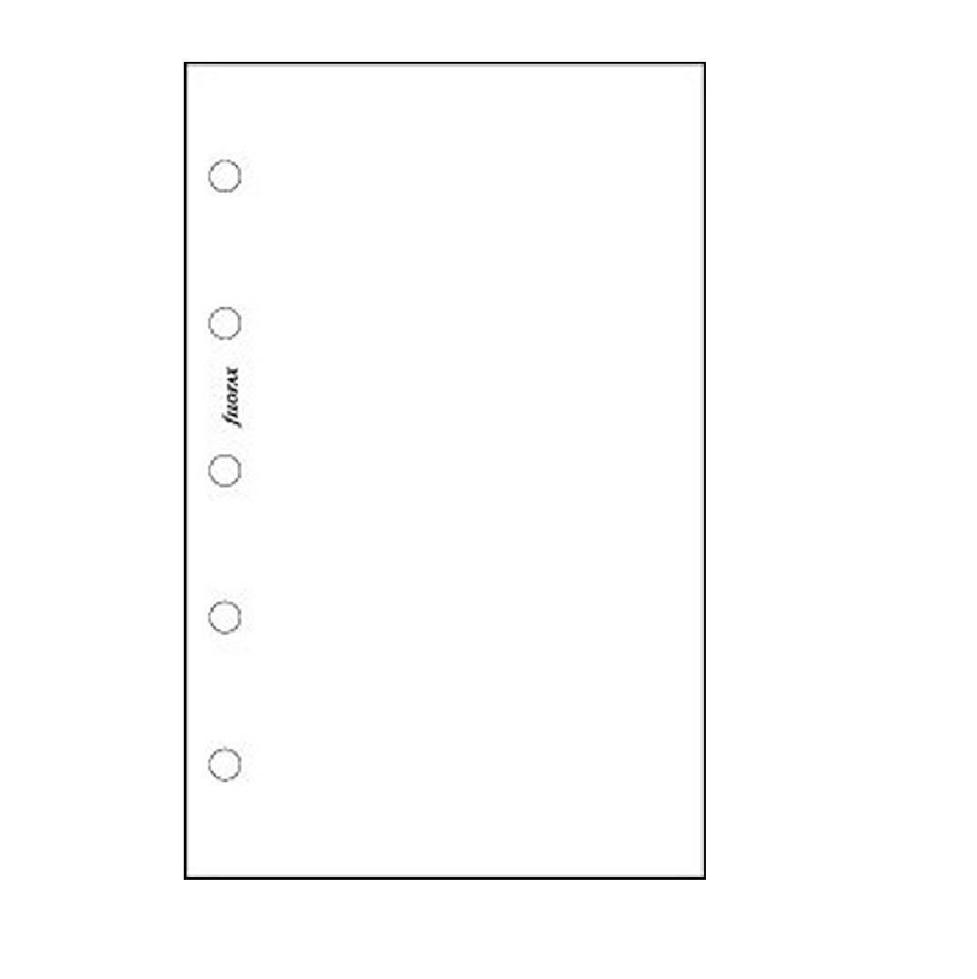 Filofax Carta a righe per blocco note colore giallo