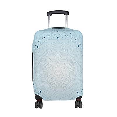 5ab3655c8954 DEYYA Trippy Art Spandex Travel Luggage Cover Baggage Suitcase ...