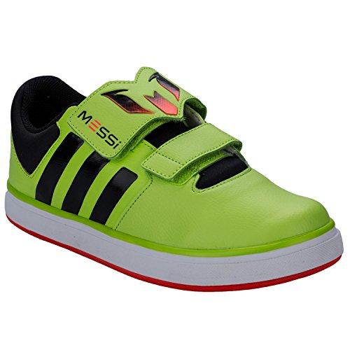 Baskets junior adidas Messi pour garçon en couleur citron vert