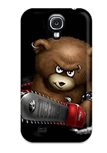 High-quality Durability Case For Galaxy S4(funnys Angry Bear)
