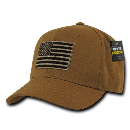 RAPDOM Tactical USA Embroidered Operator Cap, Coyote