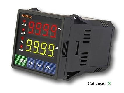 lightobject etc jld612 a dual display pid temperature controller rh amazon com