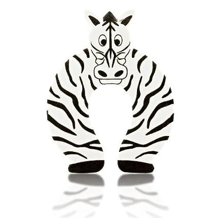 6 St/ück niedliches Tier-Design Baby-Sicherheits-Schaumstoff-T/ürstopper