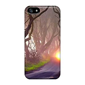DaMMeke DTNKKLz7751MOvJN Case For Iphone 5/5s With Nice Mystery Road Appearance